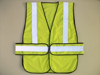 China Supplier Fluorescent Yellow/Orange High Visibility Breathable Reflective Safety Jacket Mesh Roadway Security Vest/Clothing