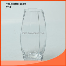 big belly glass vase in good selling