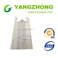 shopping bag vest carrier bag plastic bag