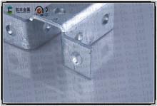 Unistrut acero accesorios de canal