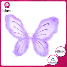 Butterfly garland felt party hanging decoration Birthday Fairy Baby Shower