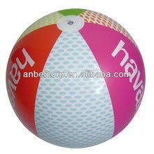 Eco- ambiente baratos pvc inflable pelota de playa/pvc pelota de playa
