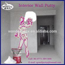 mastic de mur intérieur couche de bâtiment