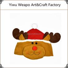 2015 New Fashion Hot Sale Children Christmas Santa Hat Decoration Deer Christmas Hat