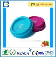 Eco-friendly & FDA/LFGB/SGS standard silicone coffee mug cup lids/cover
