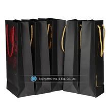 2015 new products jute wine bottle bag, wine bottle paper bag, bib bag in box wine dispenser