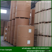 100% pure wood pulp/woodfree/ printing photocopying customizable in roll and sheet, office and printing with offset paper