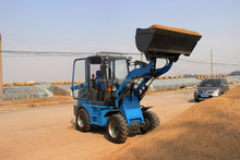 chinese well made small front leveler, earth moving and landscaping machine, mini track dumper for sale