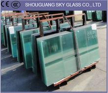 3mm, 4mm, 5mm, 6mm, 10mm, 12mm, 15mm, 19mm Tempered Glass Use In Furniture, Building, Decorative
