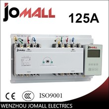 automatic transfer switch ats with English controller 125A 4 pole 400V