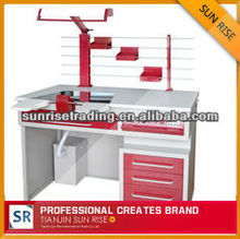 2012 hot selling high quality AX-JT3 single person steel dental lab workstation furniture product supplies in china