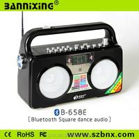 Multi-function speaker B-658E bluetooth speaker with am fm radio