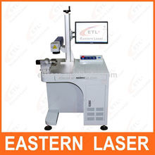 Fiber Laser Marking Machine For Marking On Pigeon Ring And Metal Button