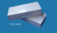 Glossy inkjet blank pvc card/inkjet printable pvc card 86mm x 54mm x0.76mm for Epson T50