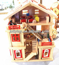 baby wooden doll house furniture
