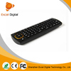 portable 2.4g 3d mini wireless air mouse keyboard for smart tv and mini wireless air mouse keyboard