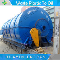 30000USD Trade Assurance waste plastic recycling plant machinery to fuel oil