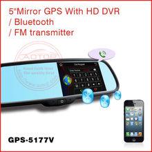 car dvr gps radar detector with GPS,Bluetooth,MP4,MP5,FM Transmitter,Capacitive Panel