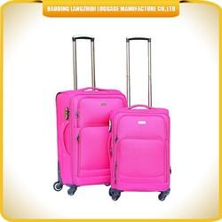 Lady big capacity fashion EVA hand carry-on luggage
