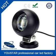 Great quality 6000K spot aluminum housing IP67 20w led work light 12v with ROHS