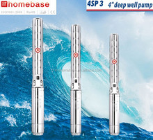 4inch Stainless steel Electric Submersible water pump