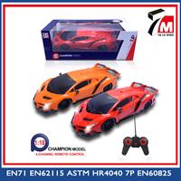 2015 top sale plastic 1 18 model toy car rc car shop
