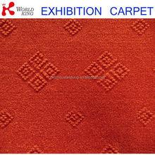 New style stylish velour jacquard carpet/interval velvet