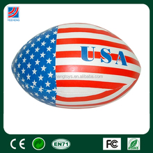 USA flag ball, rugby ball for kids toy, promotional ball