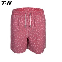 Sublimated promotional custom casual swimming shorts