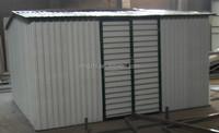 Big Shed Green Metal Garden Shed- DIY Steel Kit- Storage Sheds Sale