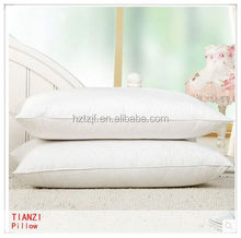 cheap hotel/home use hollow fiber down filled pillows and bolster wholesale