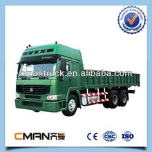 SINOTRUK howo 6x4 cargo transportation truck price with high performance