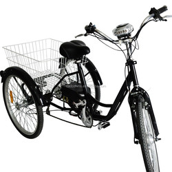 tricycle electric three wheel bike passenger for sale 2015