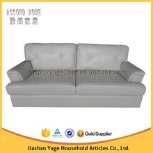 2015 new design top sale modern living room leather sofa