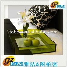 latest design glass fruit tray