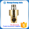 Single-channel brass water connection fittings rotary coupling water swivel joint