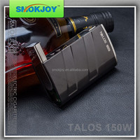 Smokjoy TALOS 150W TC mod support 0.05-2.5ohm sub ohm tank vapor malaysia from malaysia import products.