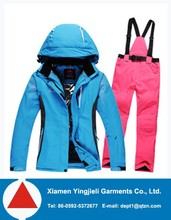 overall snow suit women ,family matching clothing