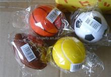 pet football,rugby,basketball,baseball,tennis balls doy playing toy