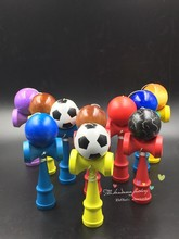 full Clear water paint kendama professional factory outlets Boutique Traditional beech Wood Game Toy Ball