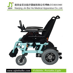 2015 hot selling folding electric power wheelchair luggages