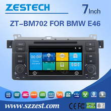 7 inch car lcd monitor for bmw e46 dvd car audio navigation system car multimedia system with GPS DVD USB/SD AM/FM