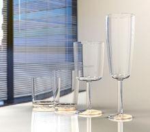 FDA standard wholesale reusable wine glass / tall drinking glass