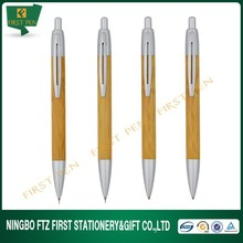 Wood Stationery Bamboo Ball Pen And Mechanical Pencil