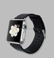 2015 Fashion New Arrived Real Leather Watch Strap Watch Band For Apple Watch
