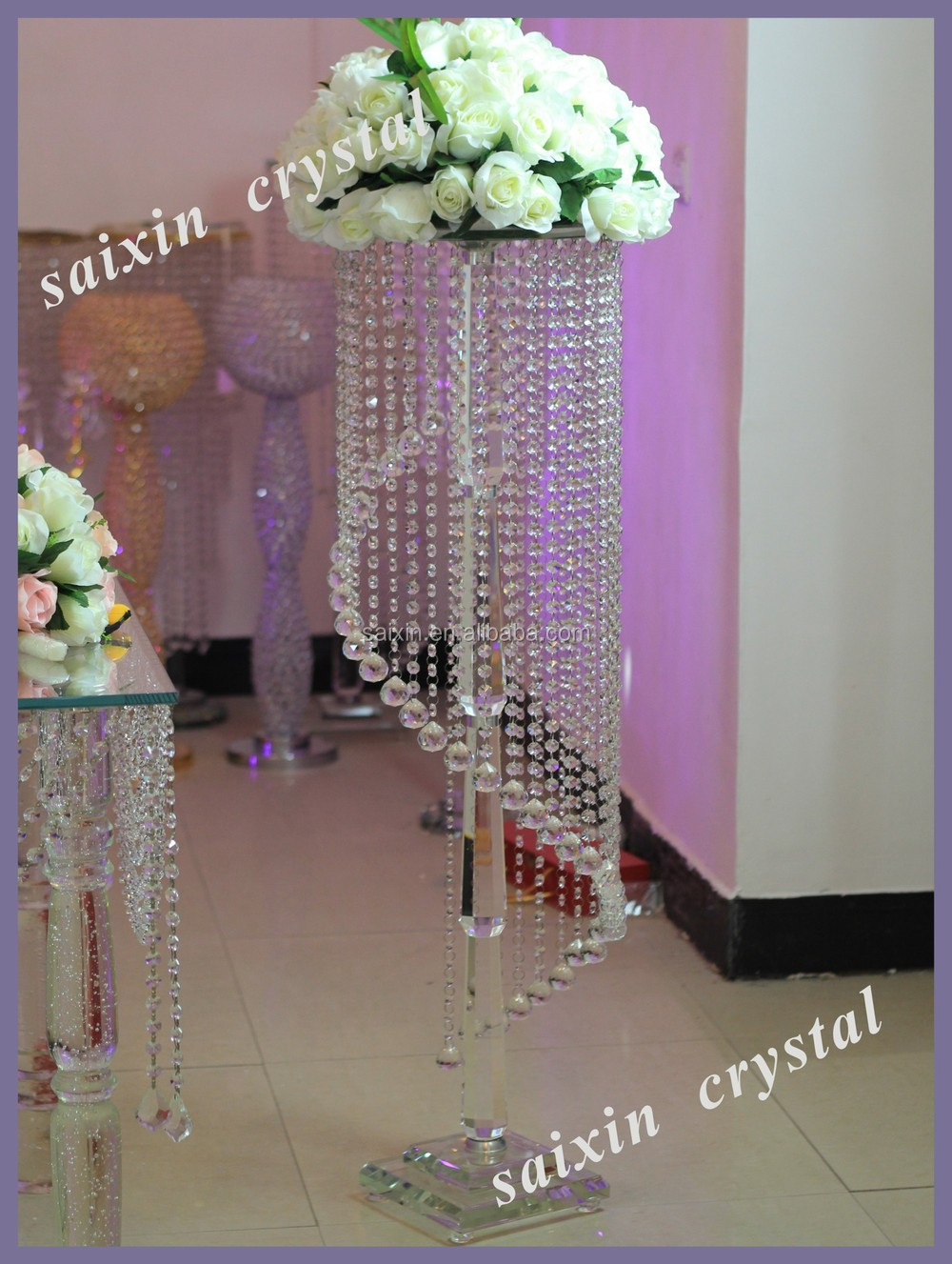 Crystal candelabra tall wedding candelabra centerpiece buy tall zt 100 4g junglespirit Choice Image