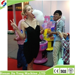 2015 Most Popular High Output Automatic Cotton Candy Machine