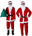 Fleece navidad traje para adultos