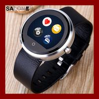 """China supplier new model watch mobile phone/android smart watch/1.22""""IPS touch screen watch phone"""