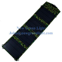 20W 12V DC Intelligent Controller USB Chain Waterproof Portable Solar Panel